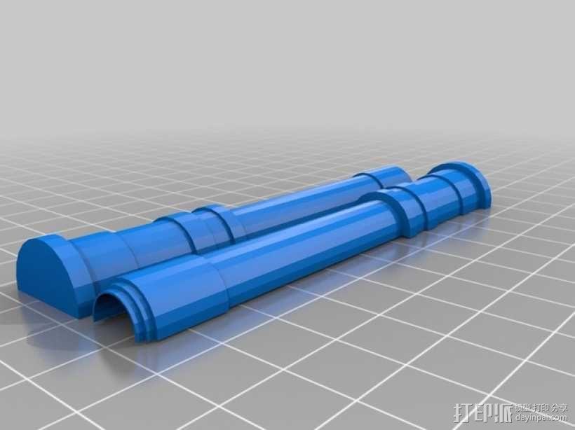 CurseSaber坦克 3D模型  图15