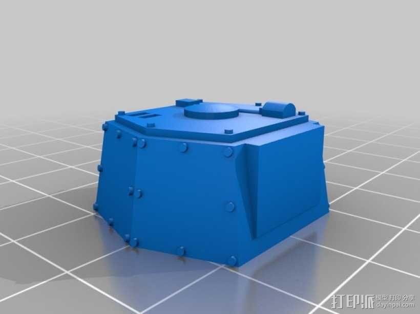 CurseSaber坦克 3D模型  图16