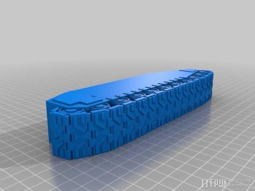 CurseSaber坦克 3D模型  图23