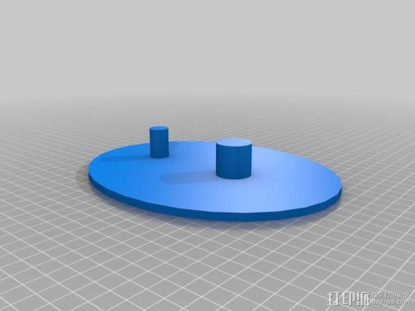 齿轮玩具1 3D模型  图2