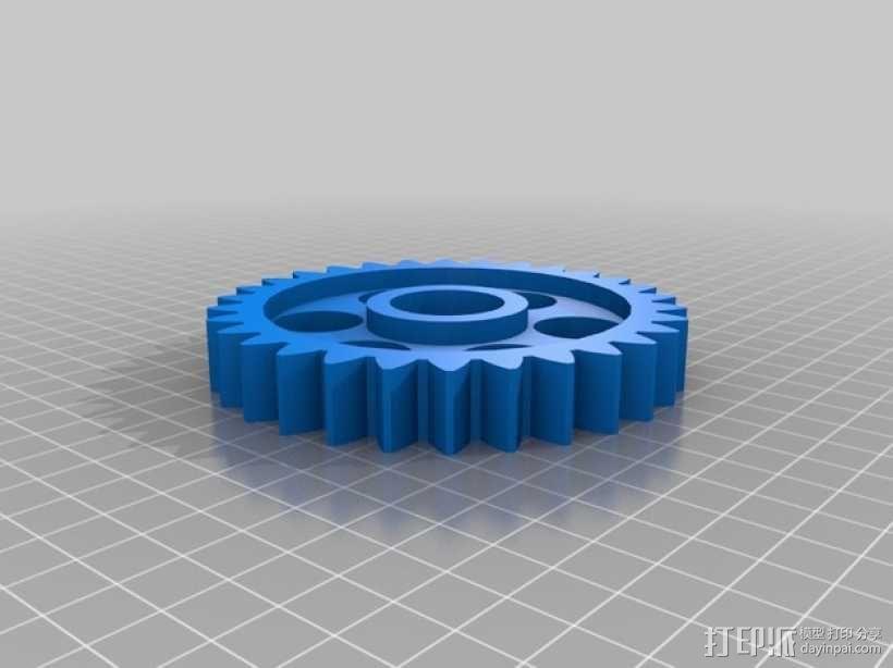 齿轮玩具1 3D模型  图3