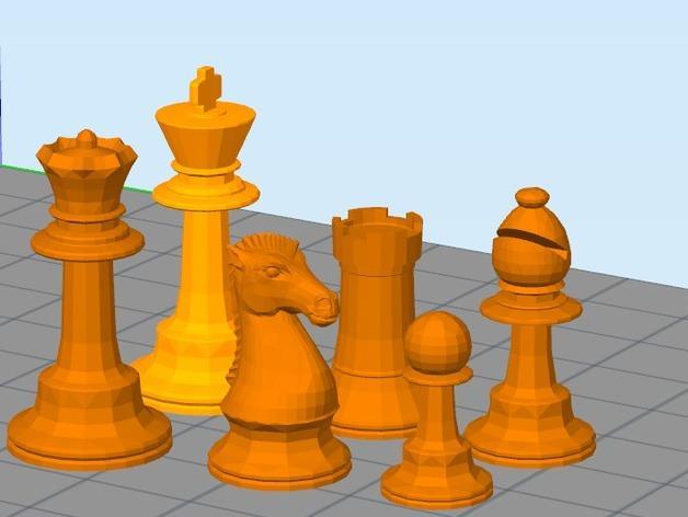 经典象棋 3D模型  图4