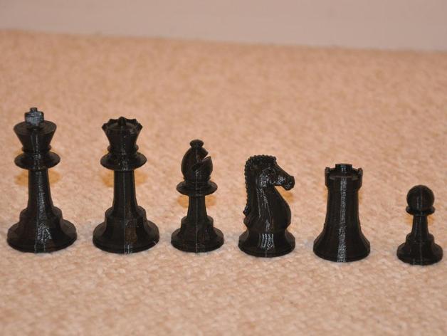 经典象棋 3D模型  图1