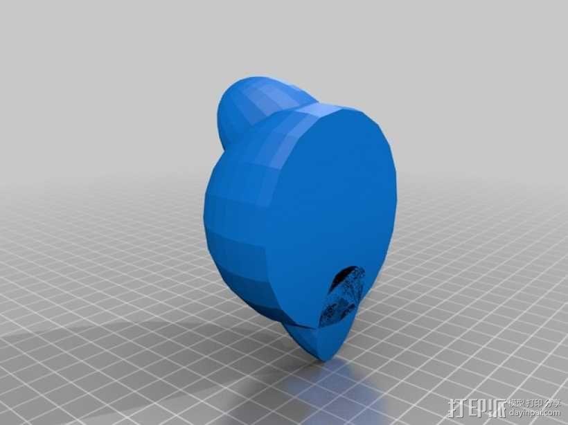卡比玩偶 3D模型  图2