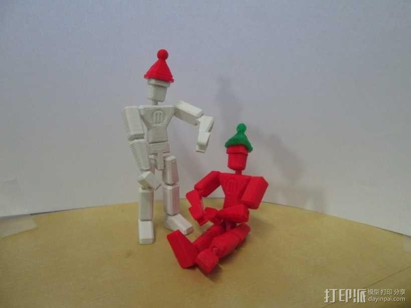 MakerBot玩偶 3D模型  图1
