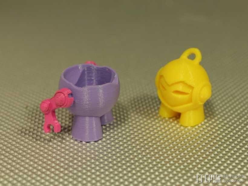马文机器人 3D模型  图3