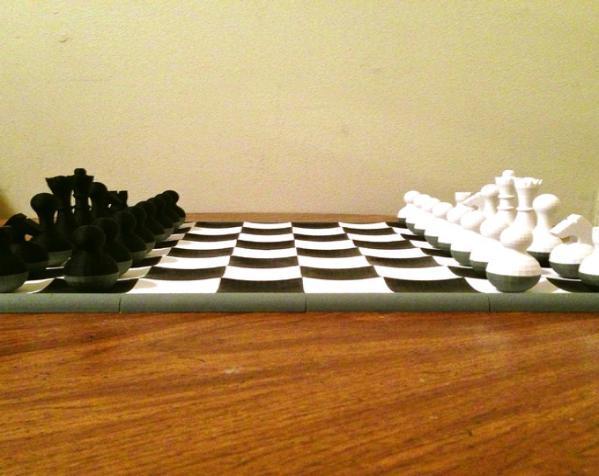 晃动的棋盘 3D模型  图3