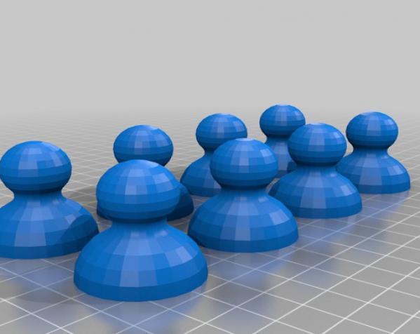 晃动的棋盘 3D模型  图5
