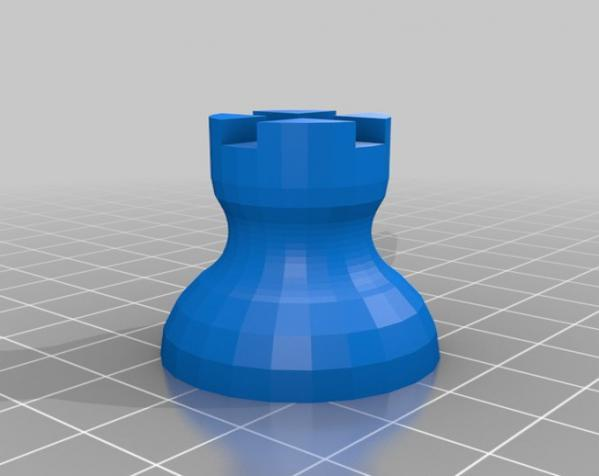晃动的棋盘 3D模型  图6