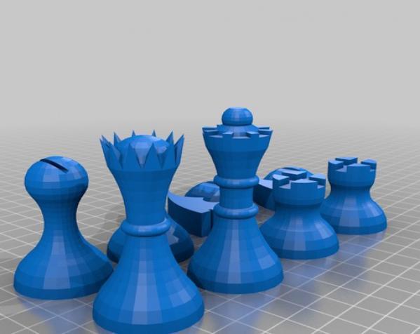 晃动的棋盘 3D模型  图19