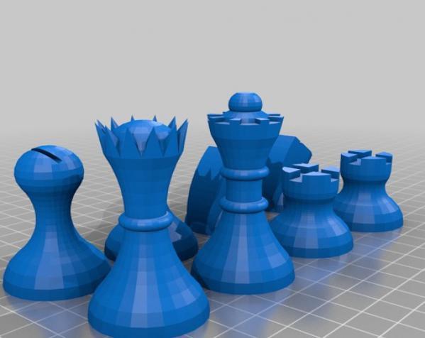 晃动的棋盘 3D模型  图18