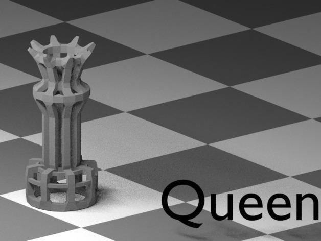 镂空象棋 3D模型  图10