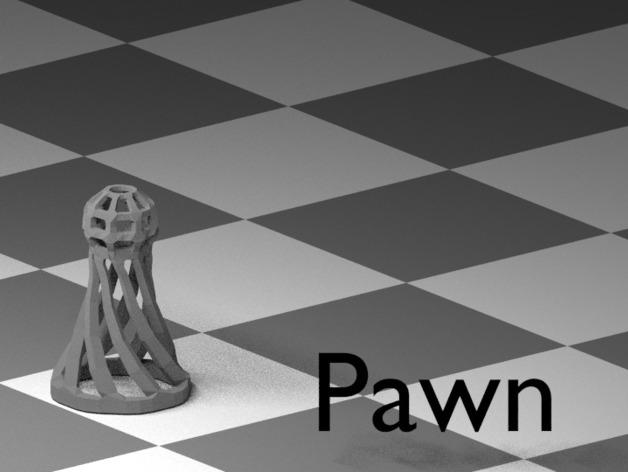 镂空象棋 3D模型  图11