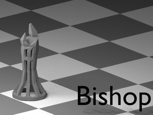 镂空象棋 3D模型  图9