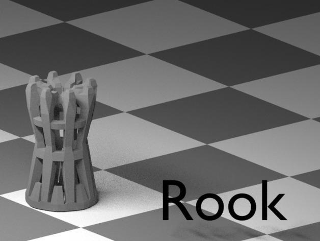 镂空象棋 3D模型  图13