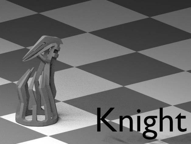 镂空象棋 3D模型  图14