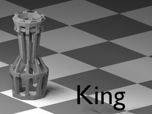 镂空象棋 3D模型  图12