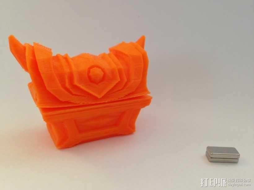 Zelda磁力金库 3D模型  图1