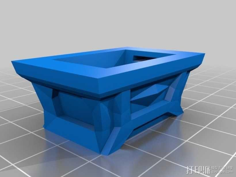 Zelda磁力金库 3D模型  图2