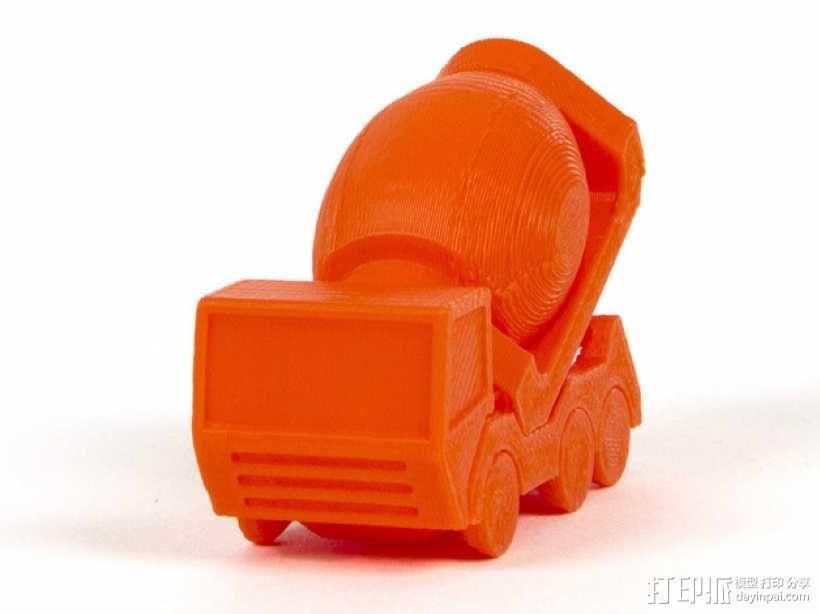 迷你卡车 3D模型  图1