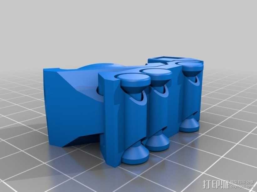 迷你卡车 3D模型  图2