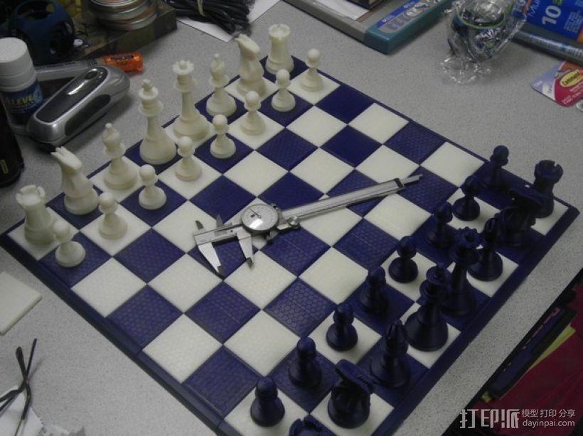 经典象棋套件 3D模型  图1