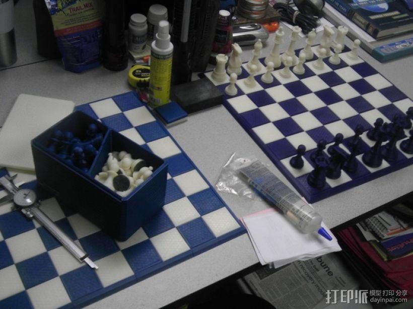 经典象棋套件 3D模型  图6
