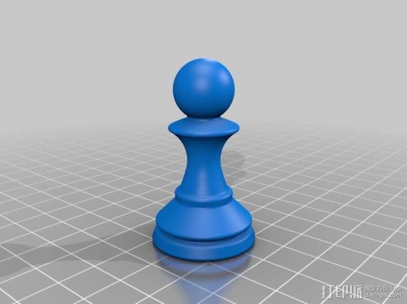 经典象棋套件 3D模型  图9