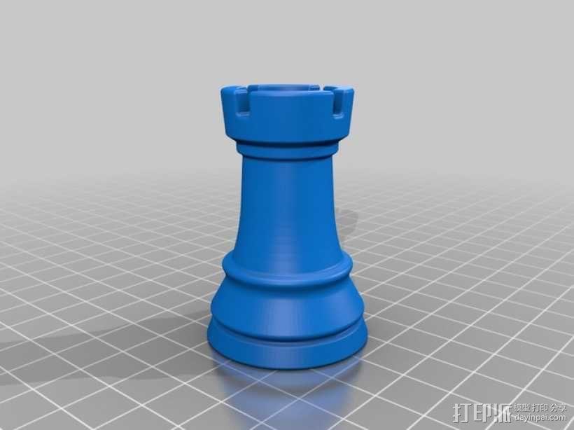 经典象棋套件 3D模型  图10