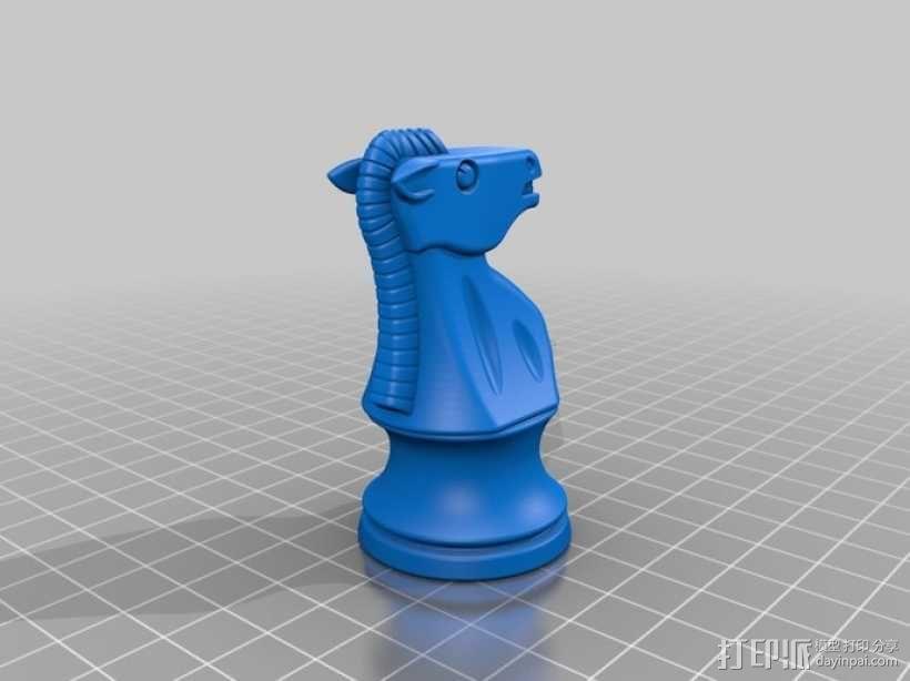 经典象棋套件 3D模型  图11