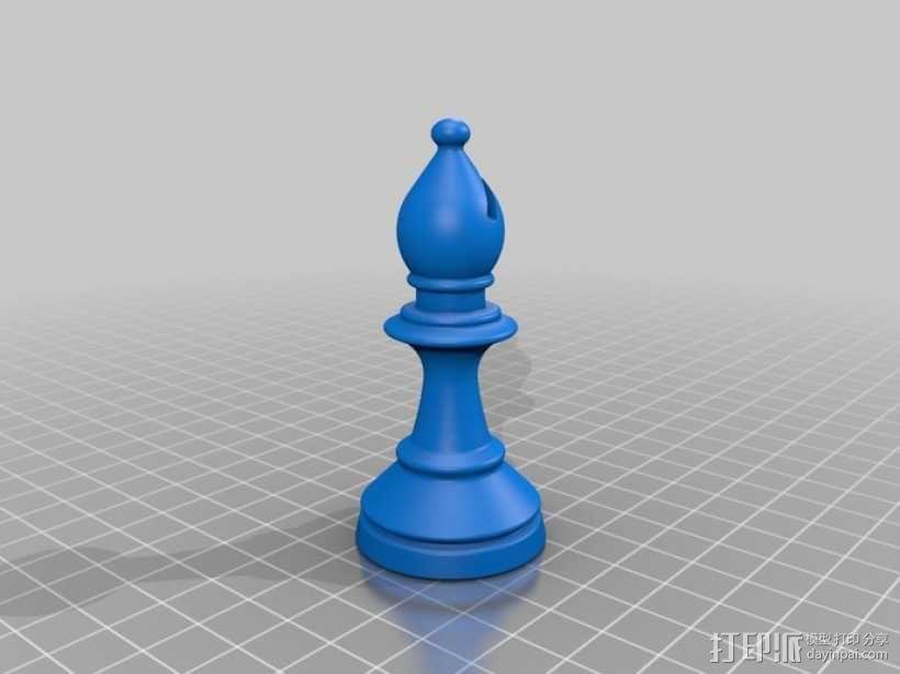 经典象棋套件 3D模型  图12