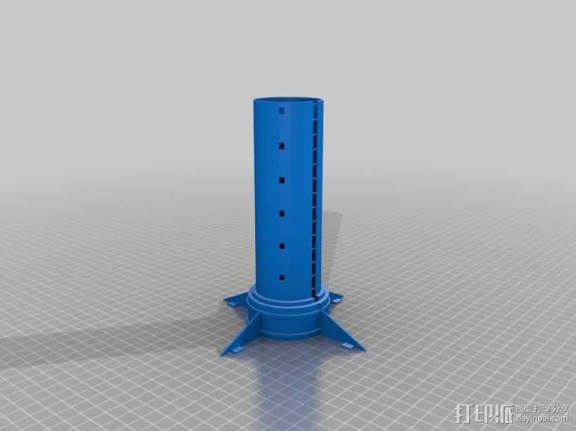 密码筒 3D模型  图6