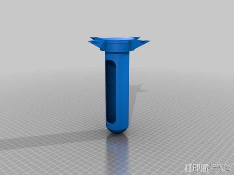 密码筒 3D模型  图11