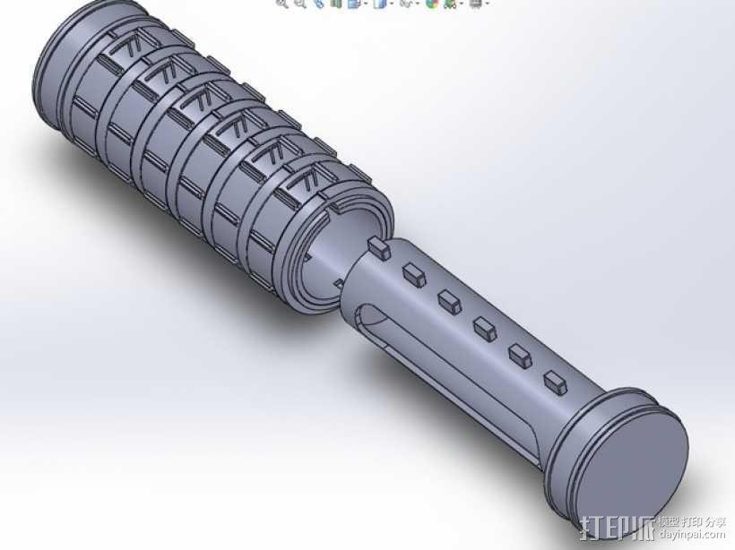 密码筒 3D模型  图13