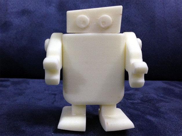 迷你机器人 3D模型  图5