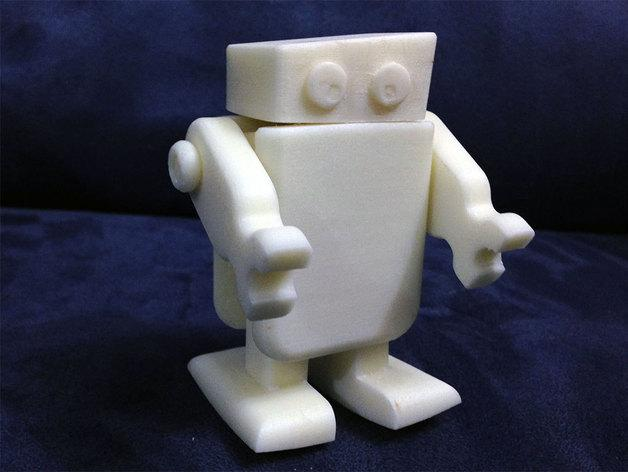 迷你机器人 3D模型  图4