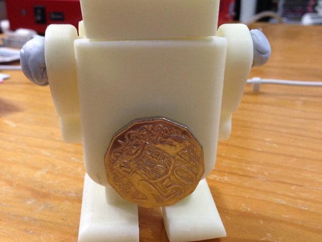 迷你机器人 3D模型  图7