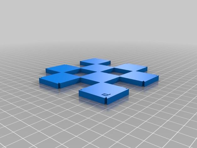 可扩展棋盘 3D模型  图4