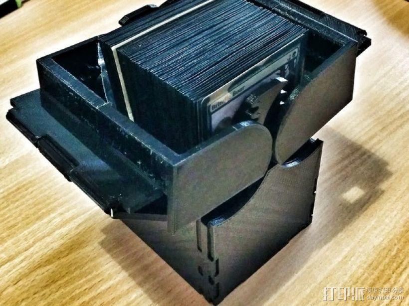 CCG卡盒 3D模型  图1