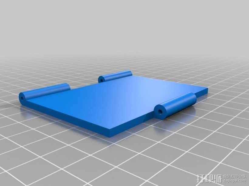 CCG卡盒 3D模型  图5