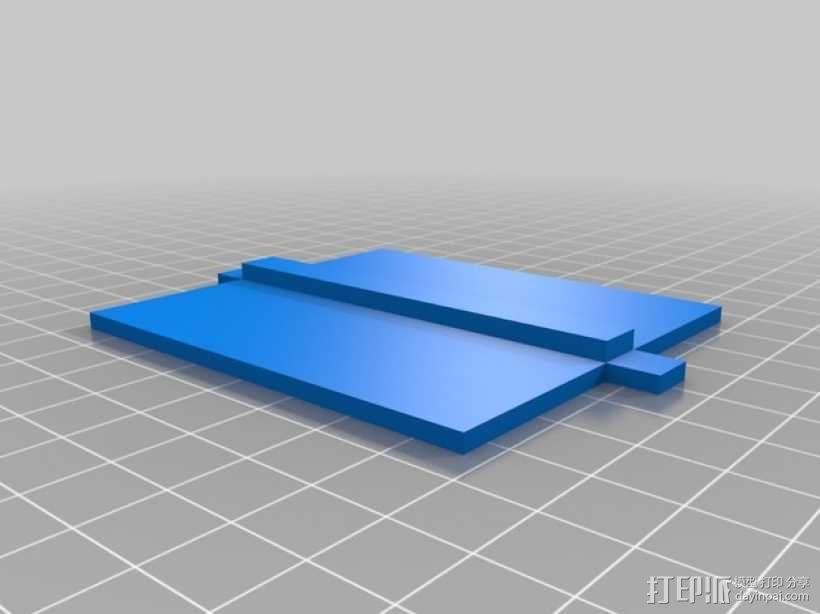 CCG卡盒 3D模型  图4