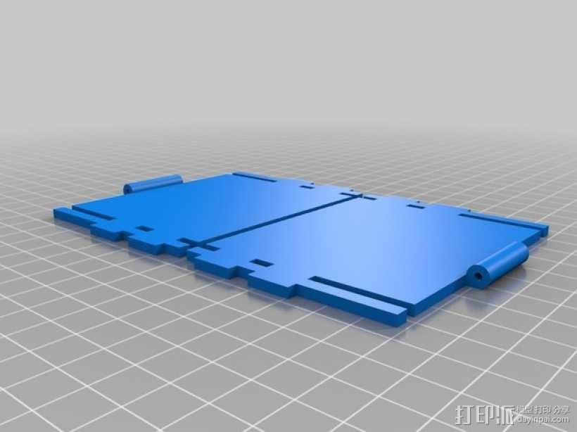CCG卡盒 3D模型  图7