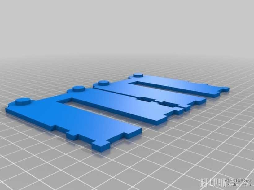 CCG卡盒 3D模型  图11