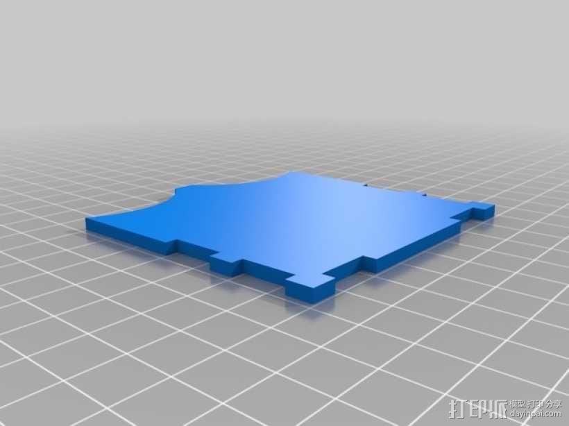 CCG卡盒 3D模型  图12