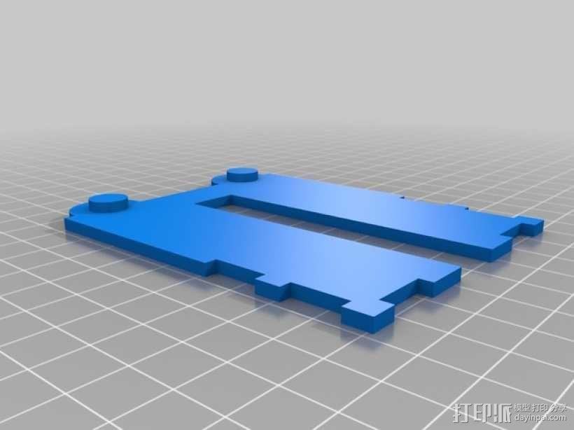 CCG卡盒 3D模型  图16