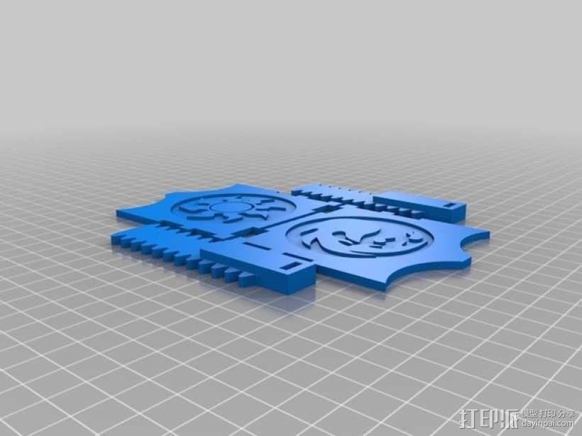 CCG卡盒 3D模型  图22