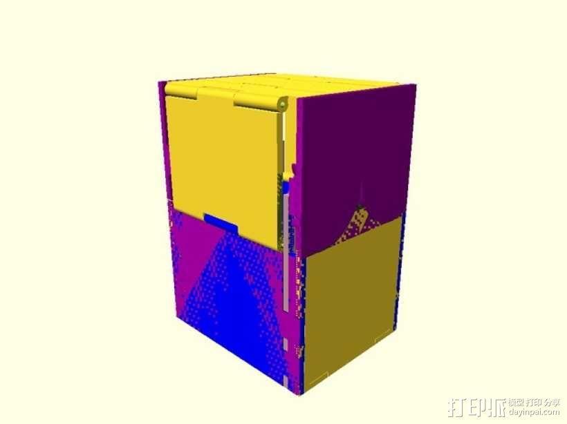 CCG卡盒 3D模型  图29
