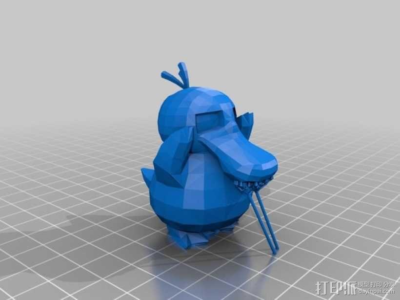 可达鸭 3D模型  图2