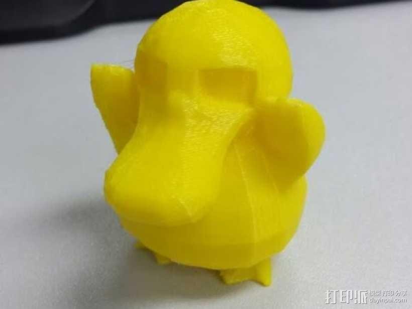 可达鸭 3D模型  图1