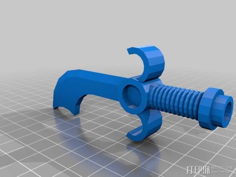 乐高玩具skimbal 3D模型  图2